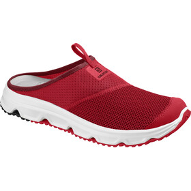 Salomon RX Slide 4.0 Chaussures running Homme, high risk red/white/red dahlia